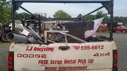 We Pick Up And Recycle Scrap Metal In Hartford County Ct